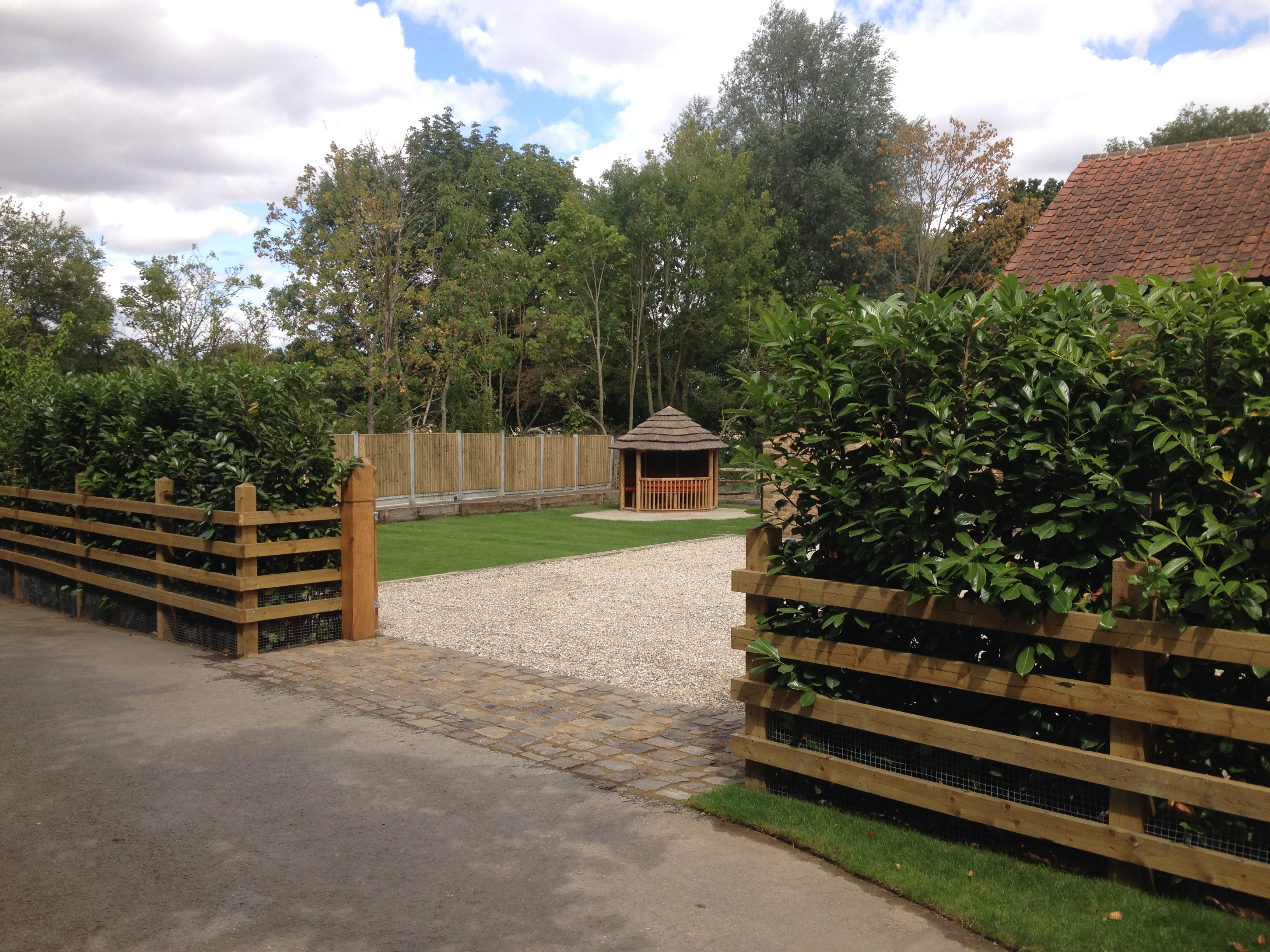 Landscape construction services in suffolk and essex for Landscape construction